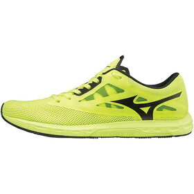 Mizuno Wave Sonic 2 Running Shoes Men safety yellow/black/white